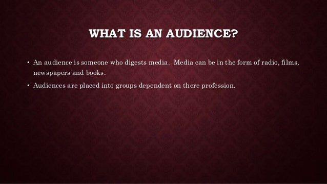 Horror audiences Slide 2
