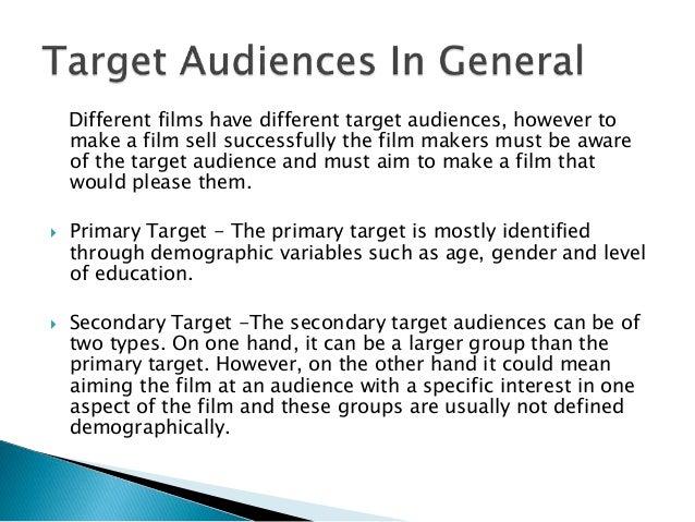 Horror film target audience