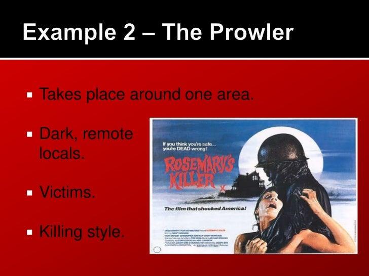 Horror film trailers