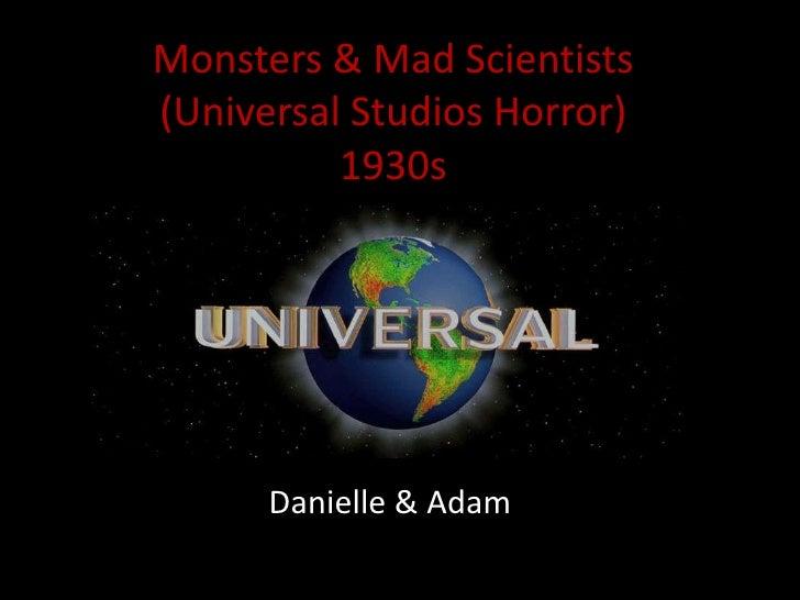 Monsters & Mad Scientists(Universal Studios Horror)1930s<br />Danielle & Adam<br />