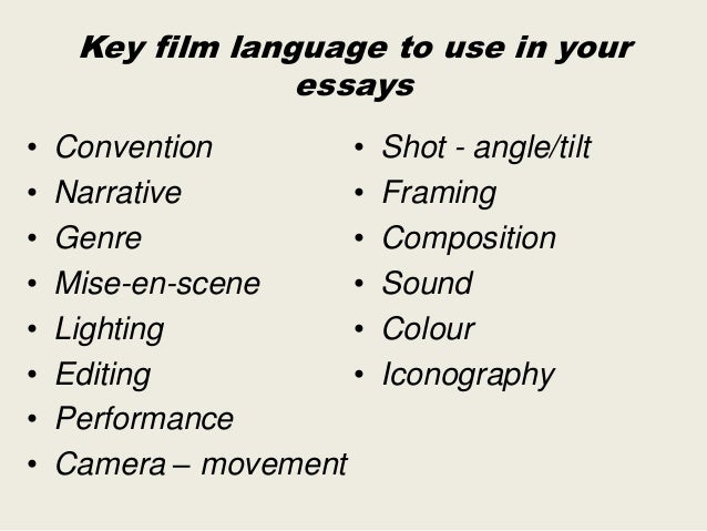 Codes and conventions of a documentary