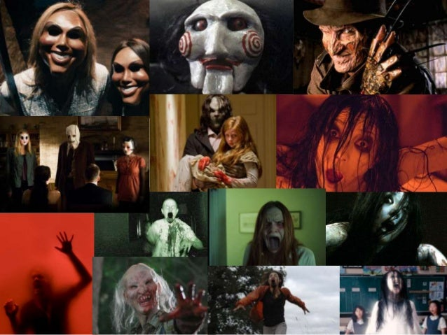 horror mood board