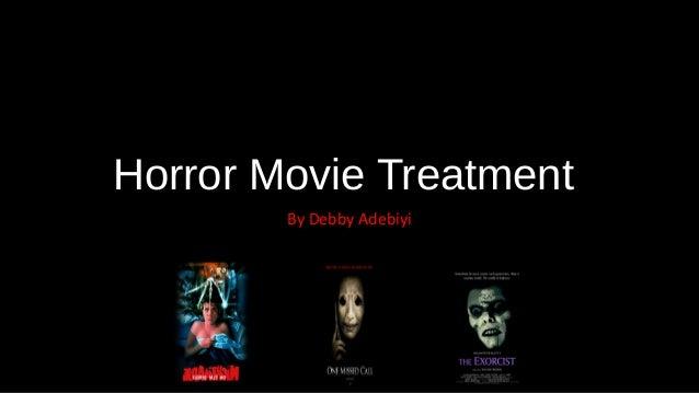 Horror Movie Treatment