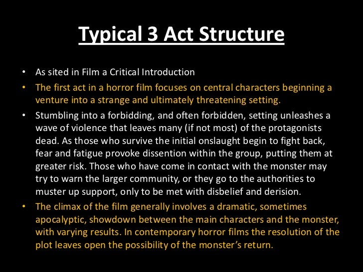 horror genre paper Writing horror isn't easy and all of the clichés make it especially hard to write in the horror genre learn to take a fresh, new approach in your horror writing.