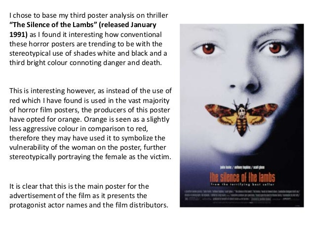 Horror poster analysis 3