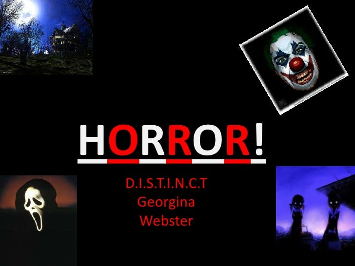 Horror powerpoint horror toneelgroepblik Images