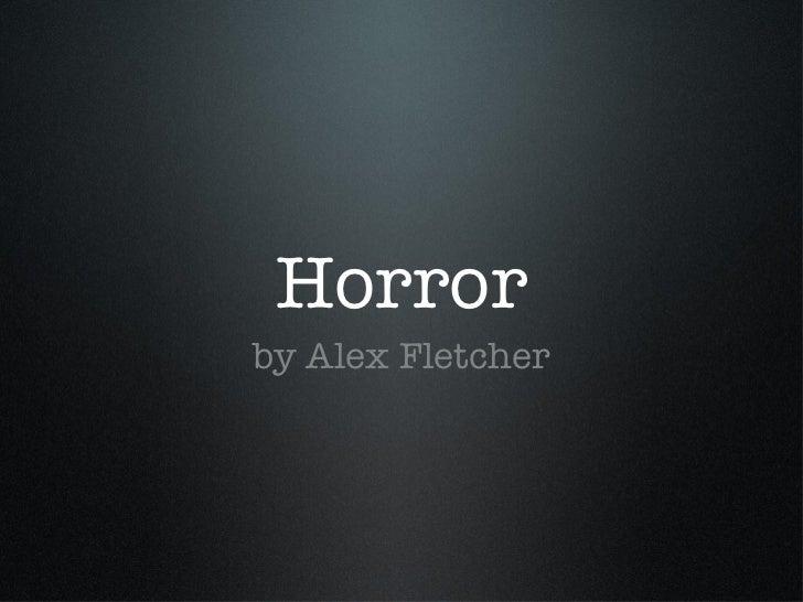 Horror powerpoint toneelgroepblik Images