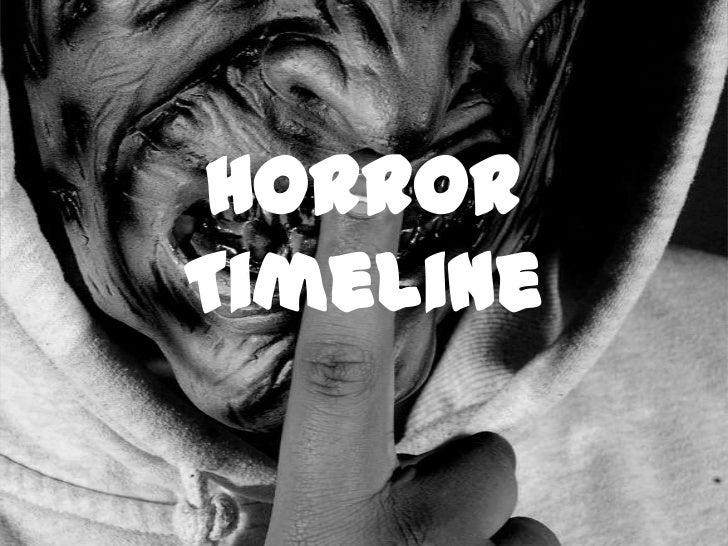 Horror Timeline<br />
