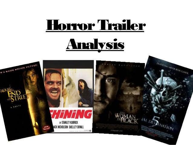 Horror Trailer  Analysis