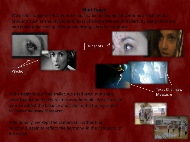 horror trailer evaluation Welcome to leatherhead productions  - a horror movie trailer - a horror magazine  - evaluation: 20 marks click for horror games.