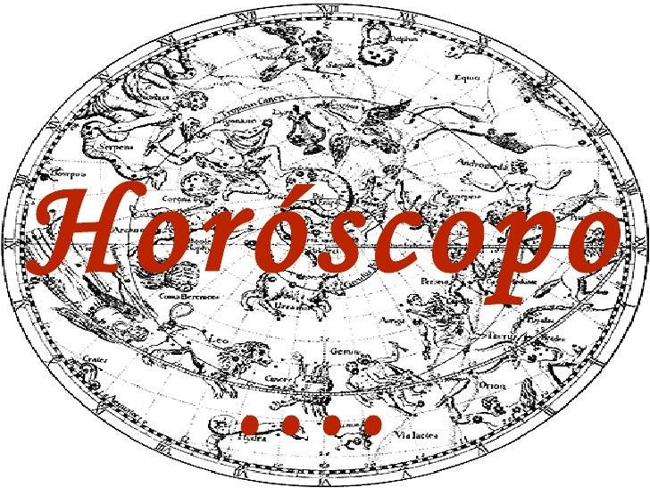 Horóscopo....