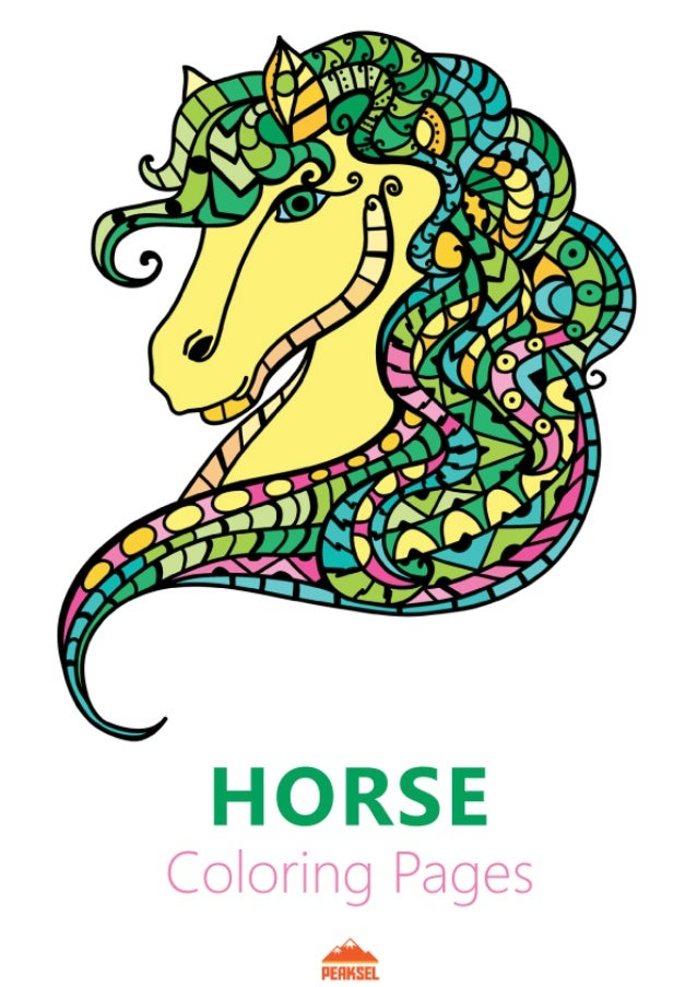 Free Coloring Pages for Horses Awesome Free Printable Horse ... | 903x638