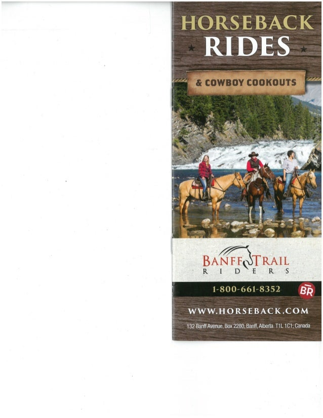 Horse Back Riding Brochure Reading aAssessment