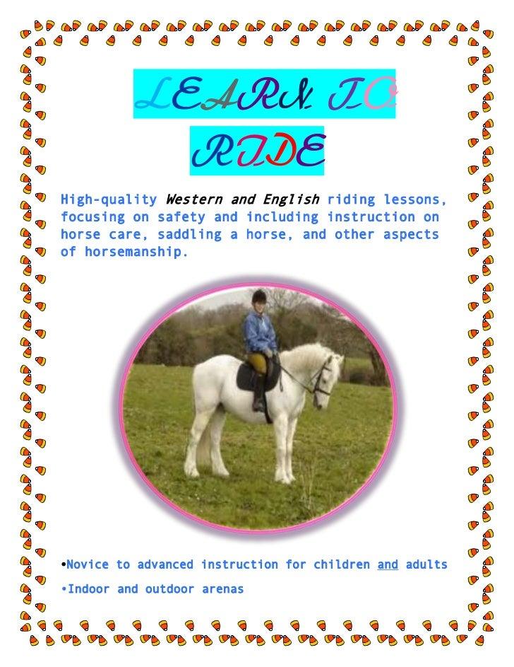 Horseback Lessons Flyers Carnavaljmsmusicco - Horseback riding lesson gift certificate template