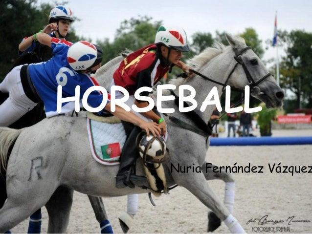 HORSEBALL  Nuria Fernández Vázquez