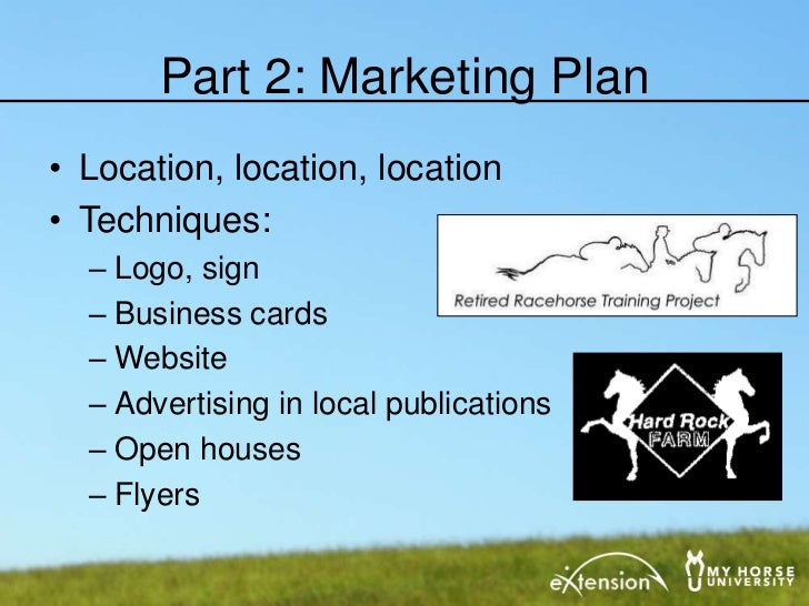 creating an equine business plan