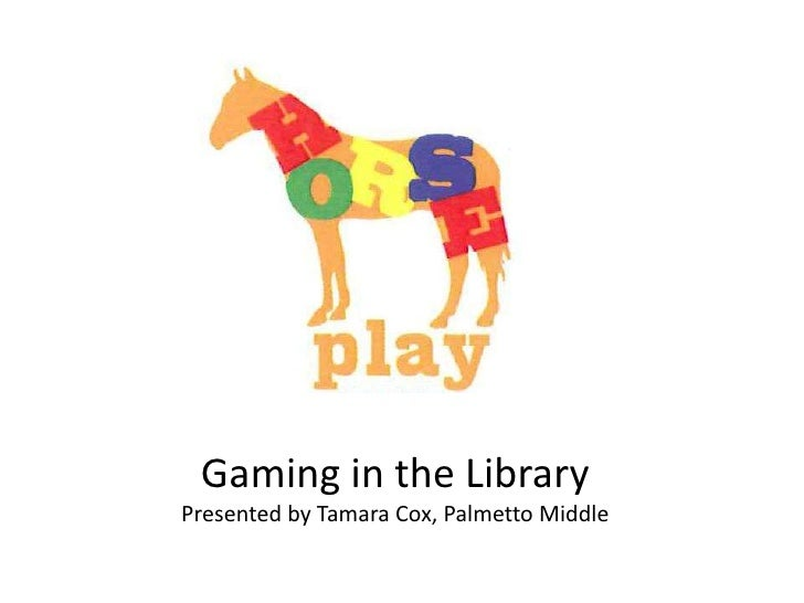 Gaming in the LibraryPresented by Tamara Cox, Palmetto Middle<br />