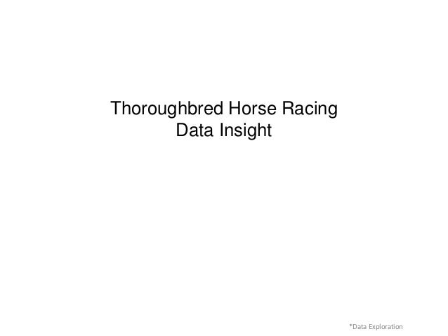 Horse racing assignment