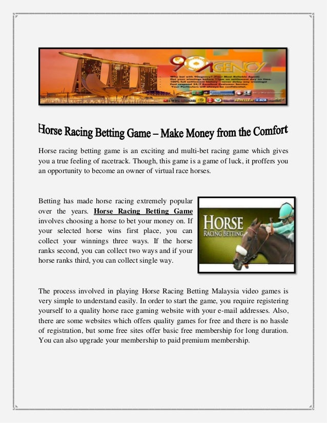 Can you make money gambling horses game online free casino
