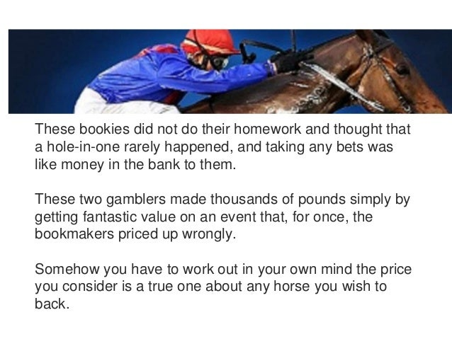 how to work out bookmakers odds