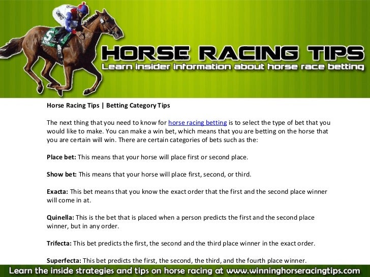 First 4 betting strategies for horse betting typ 1 nach din 1610 am