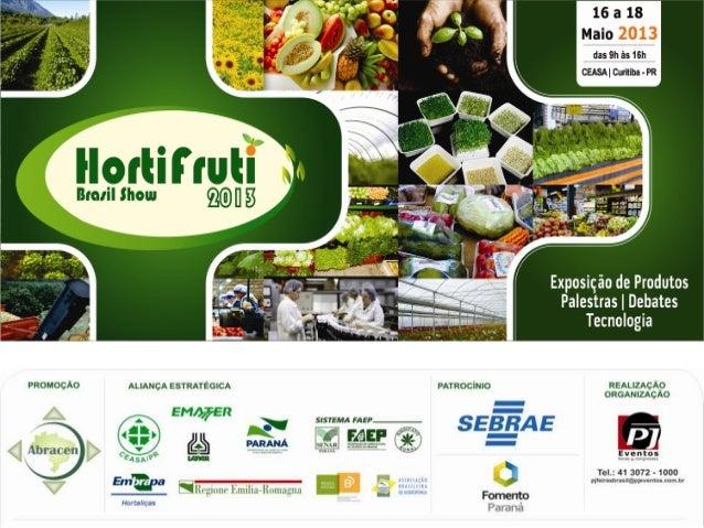 Pesquisa de satisfação realizada junto aos Expositores entre os dias 17 e 18 de Maio de 2013.
