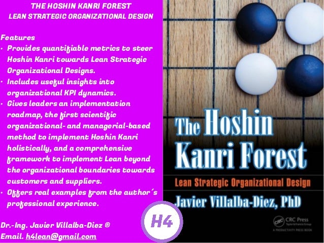 THE HOSHIN KANRI FOREST LEAN STRATEGIC ORGANIZATIONAL DESIGN Features • Provides quantifiable metrics to steer Hoshin Kanr...
