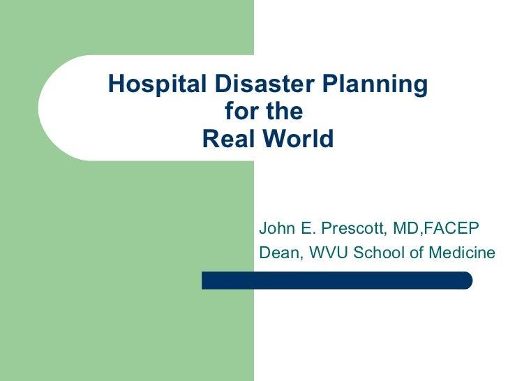 Hosp disasterplanning.wva