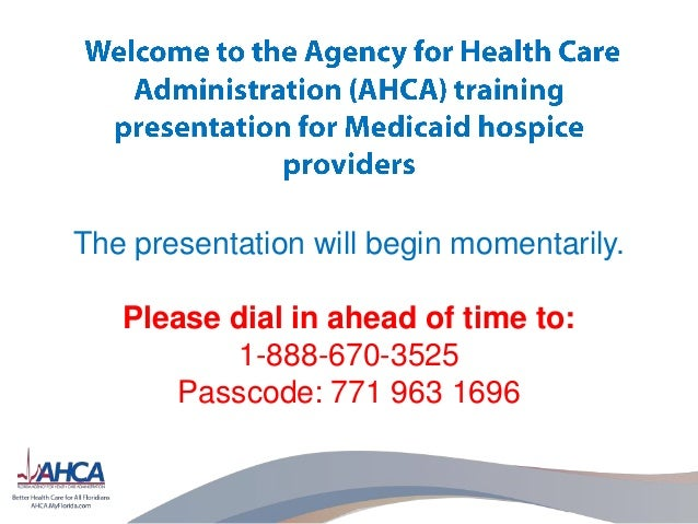 The presentation will begin momentarily. Please dial in ahead of time to: 1-888-670-3525 Passcode: 771 963 1696