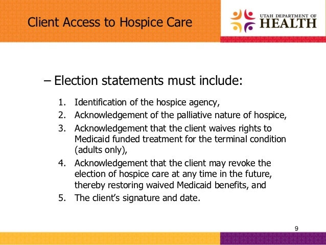 caring for the hospice client in The information below is from the hospice friendly hospital programme's map for end-of-life care  caring for a dying patient • pressure care - if death is.