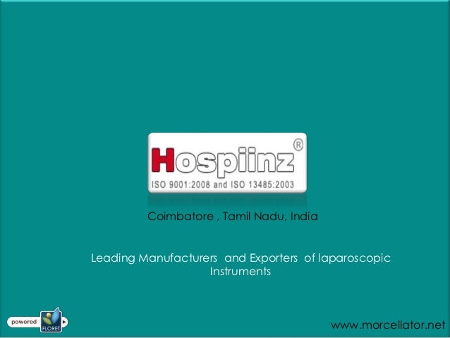 Coimbatore , Tamil Nadu, IndiaLeading Manufacturers and Exporters of laparoscopic                   Instruments           ...