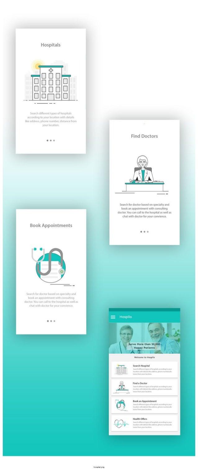 best hospital mobile app design