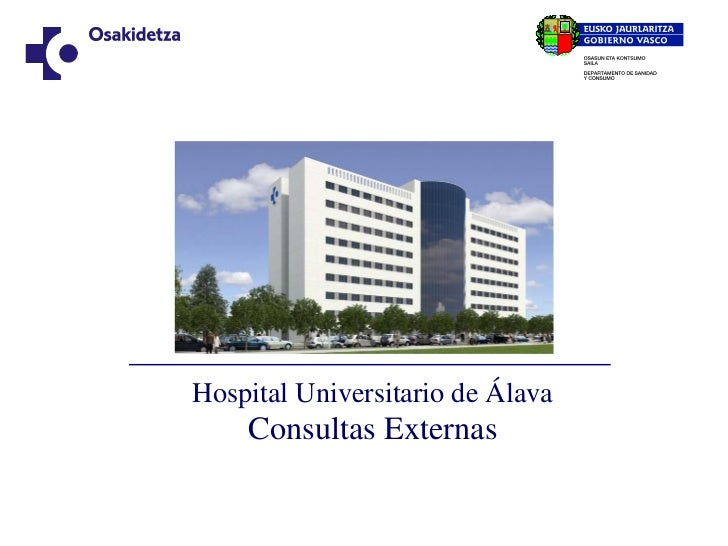 Hospital Universitario de Alava consultas externas.pdf