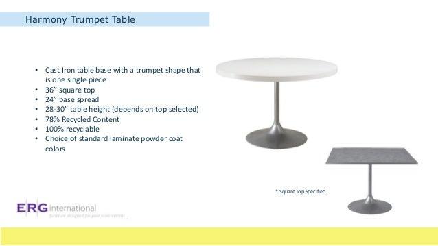 ... Specified; 12. Harmony Café Table SquareHarmony ...