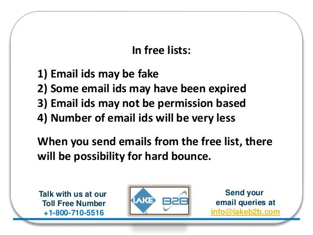 Why should you buy Hospital Email List?