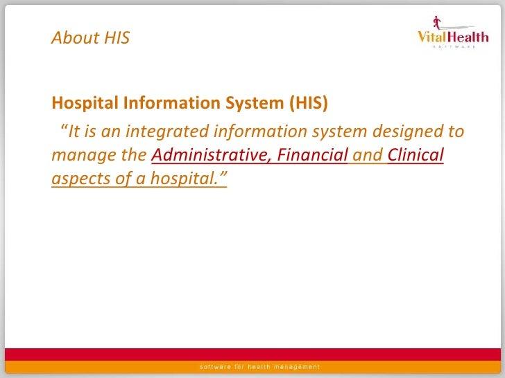 Hospital Information Management System 24092010 Slide 3