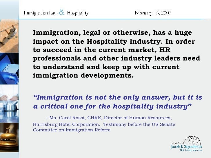 What Immigration Reform Means for the Hotel Industry
