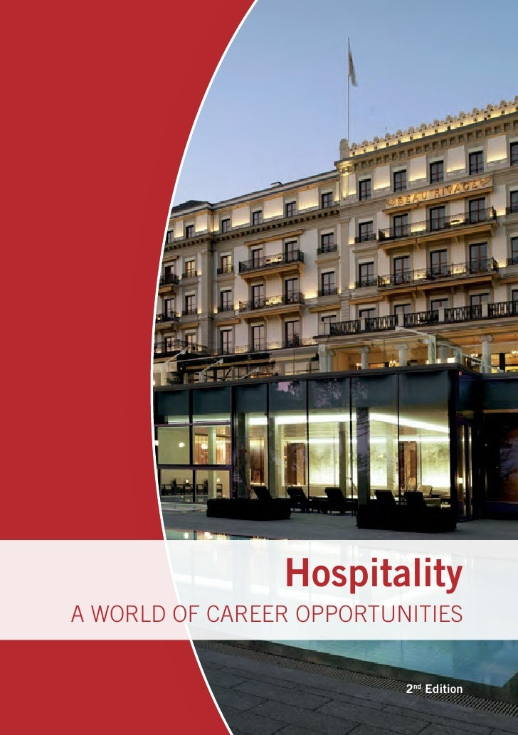 HospitalityA WORLD OF CAREER OPPORTUNITIES                          2nd Edition