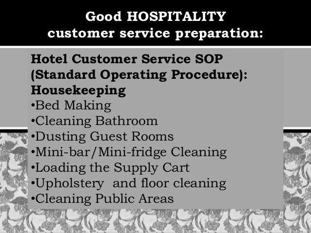 Hospitality Branding Service as Marketing