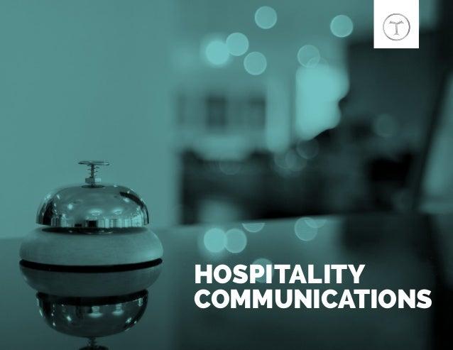 HOSPITALITY COMMUNICATIONS