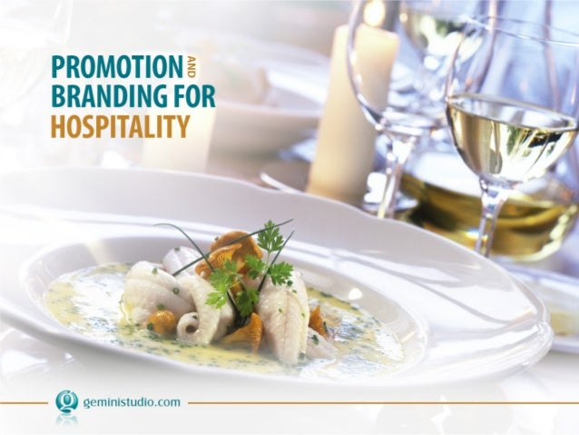 The following presentation provides a snapshot of Gemini's promotion and branding initiatives for the hospitality industry.