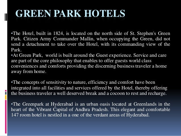 green marketing the hospitality industry Apply for hospitality & catering jobs on guardian jobs entrepreneurial general manager with a genuine passion for the hospitality industry to continue the growth of a 4-st view details 7 days ago save head of sales and marketing.