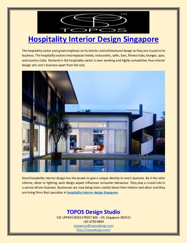 Hospitality Interior Design Firms Singapore: Hospitality interior design singaporerh:slideshare.net,Design