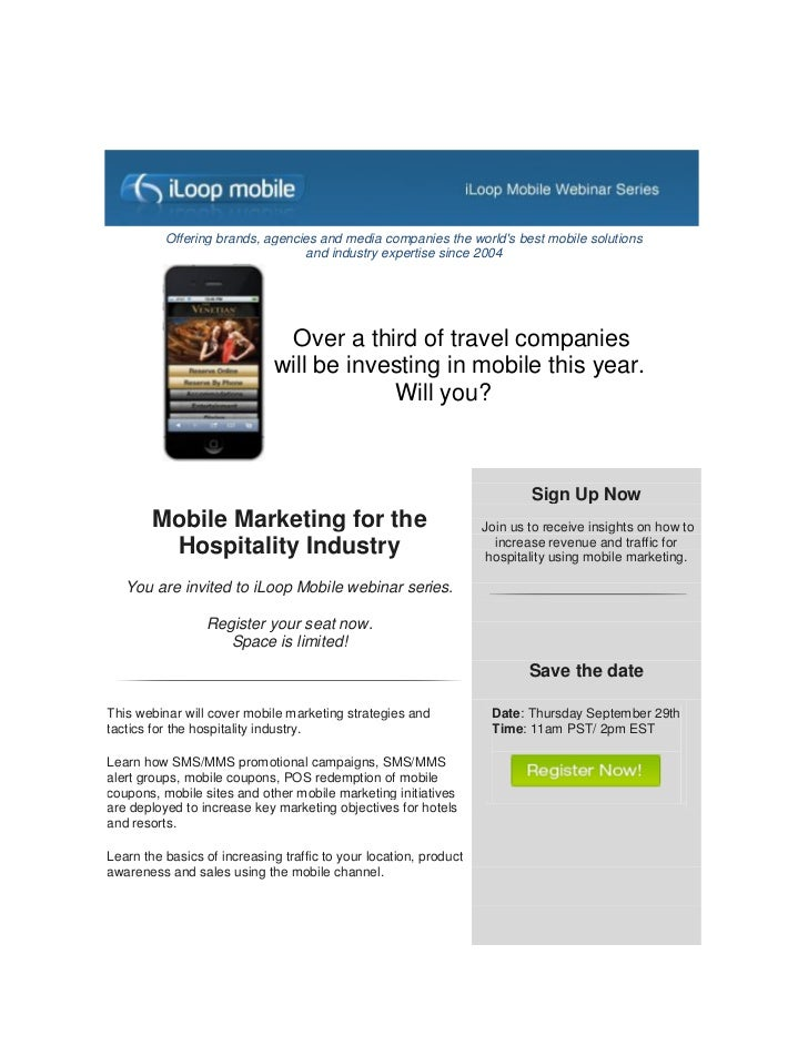 Offering brands, agencies and media companies the worlds best mobile solutions                                 and industr...