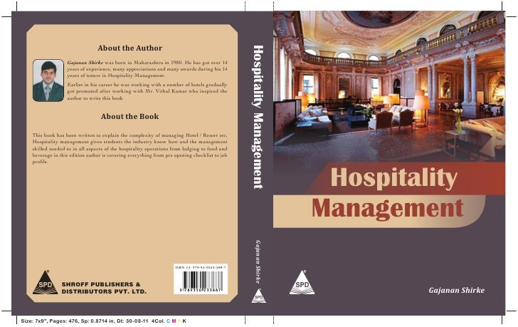 About the Author                                                                                                 Hospitali...