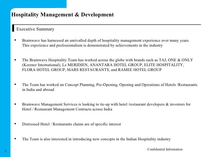 Fein Hospitality Management Zusammenfassung Zusammenfassung ...