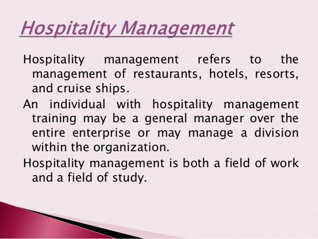 the relationship between tourism and hospitality industry Purpose - the purpose of the present study was to examine the relationship between service quality and customer satisfaction the main objective was to discuss the impact of perceived service quality dimensions on customer satisfaction in the hotel industry in croatia methodology - the data.