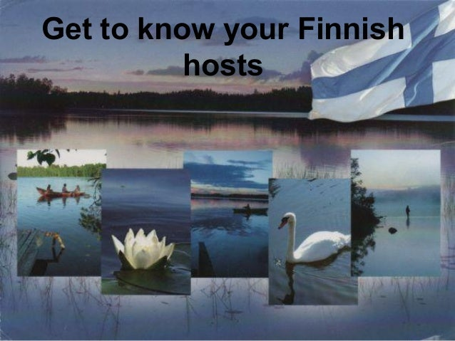 Get to know your Finnish hosts
