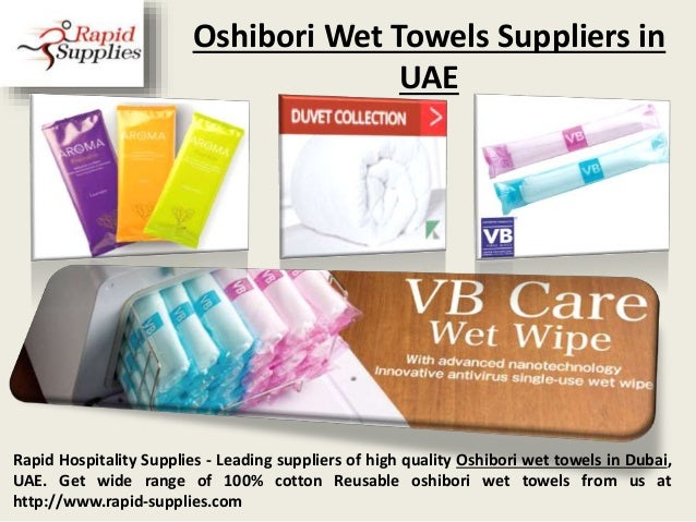 Oshibori Wet Towels Suppliers in UAE