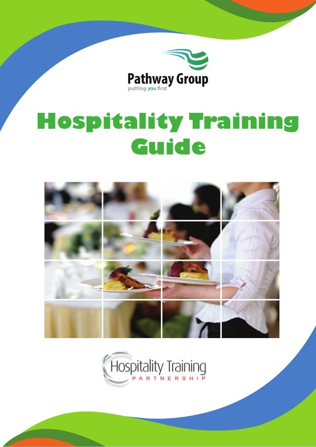 Hospitality Training Guide Pathway Groupputting you first